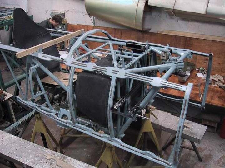 Восстановление фронтового самолета МиГ-3 (7)