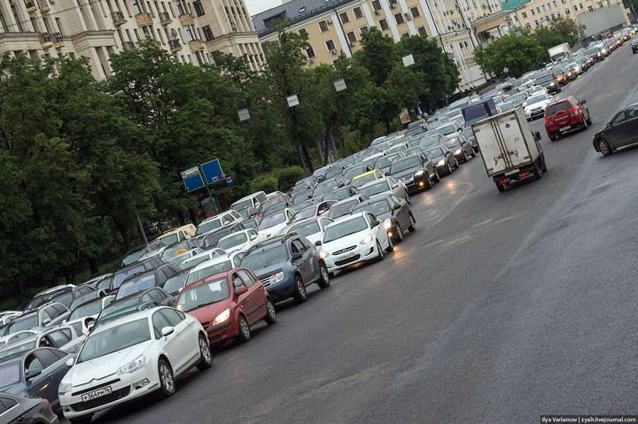 Московские пробки (8)