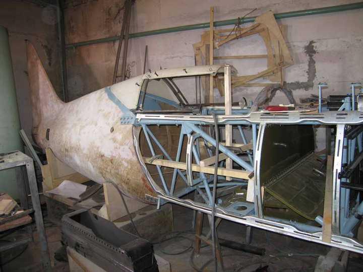 Восстановление фронтового самолета МиГ-3 (8)