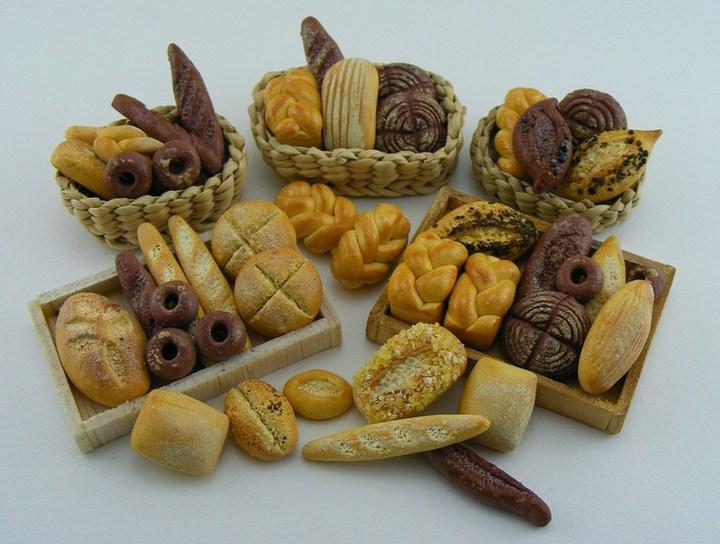 Миниатюрные копии еды Шайя Аарона (10)