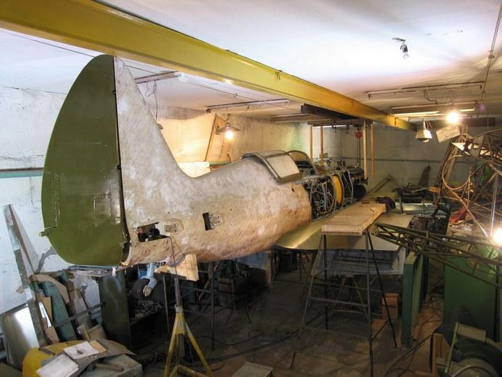 Восстановление фронтового самолета МиГ-3 (9)