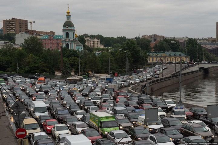 Московские пробки (10)