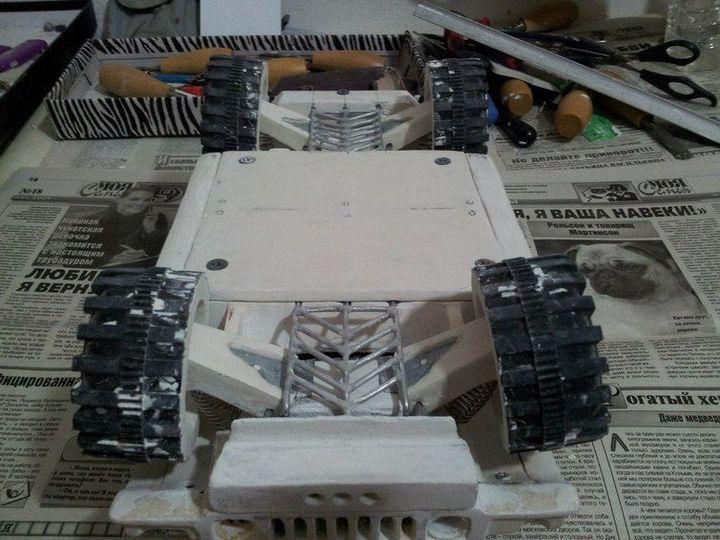 Модели Hummer своими руками (10)