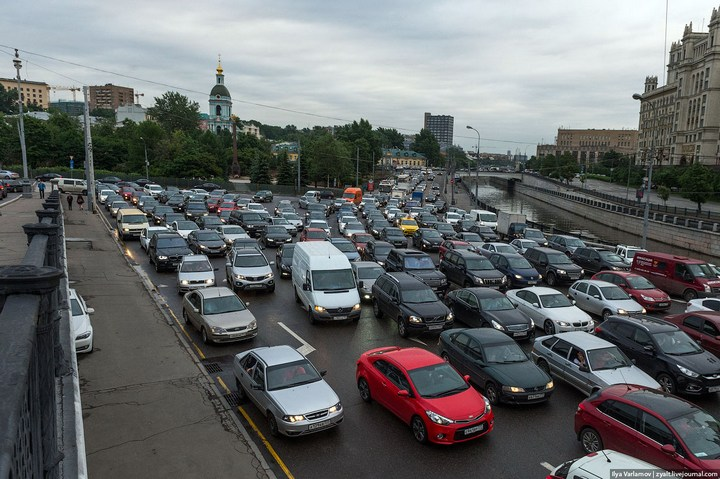 Московские пробки (11)
