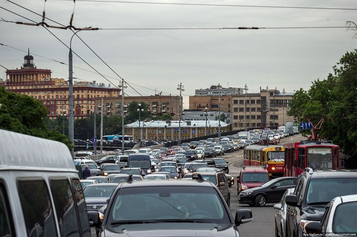 Московские пробки (12)
