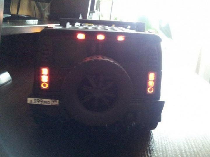 Модели Hummer своими руками (12)