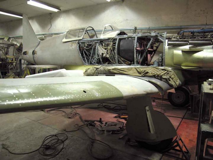 Восстановление фронтового самолета МиГ-3 (12)