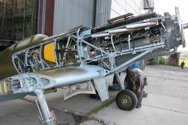 Восстановление фронтового самолета МиГ-3 (13)
