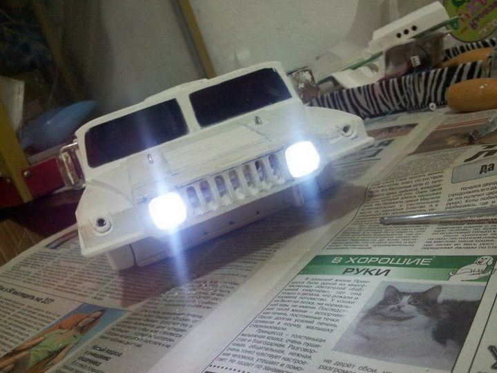 Модели Hummer своими руками (14)