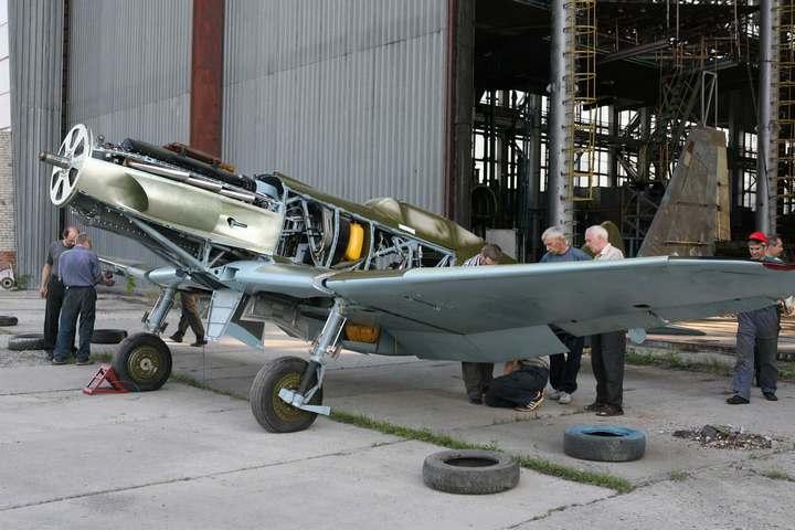 Восстановление фронтового самолета МиГ-3 (14)