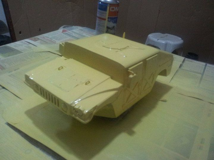 Модели Hummer своими руками (16)