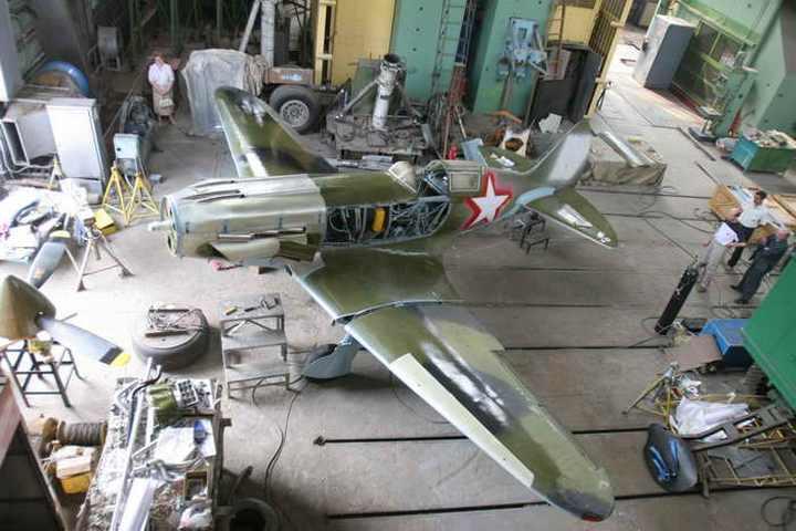 Восстановление фронтового самолета МиГ-3 (15)