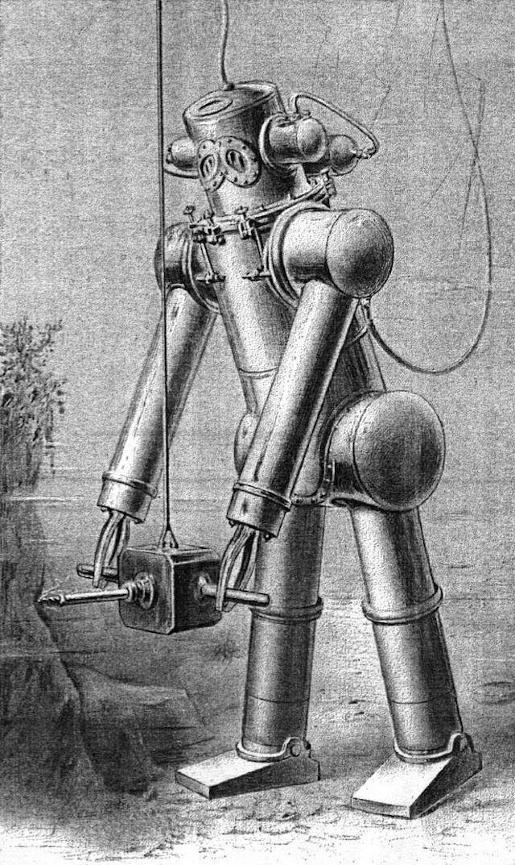 История и эволюция водолазных костюмов (17)
