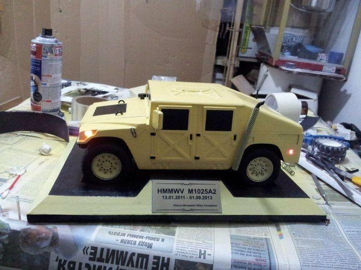 Модели Hummer своими руками (18)
