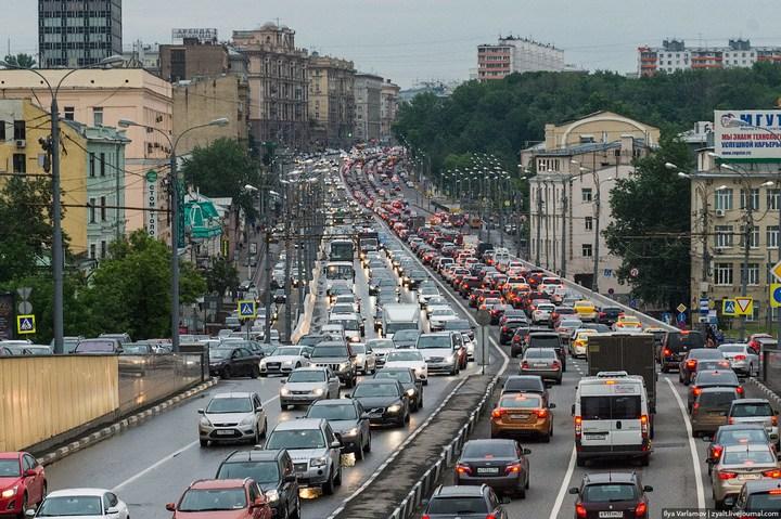 Московские пробки (19)