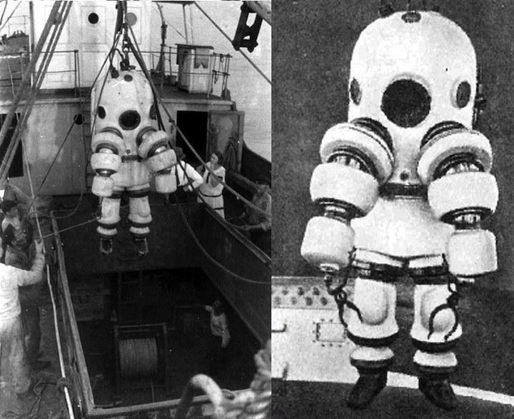 История и эволюция водолазных костюмов (20)