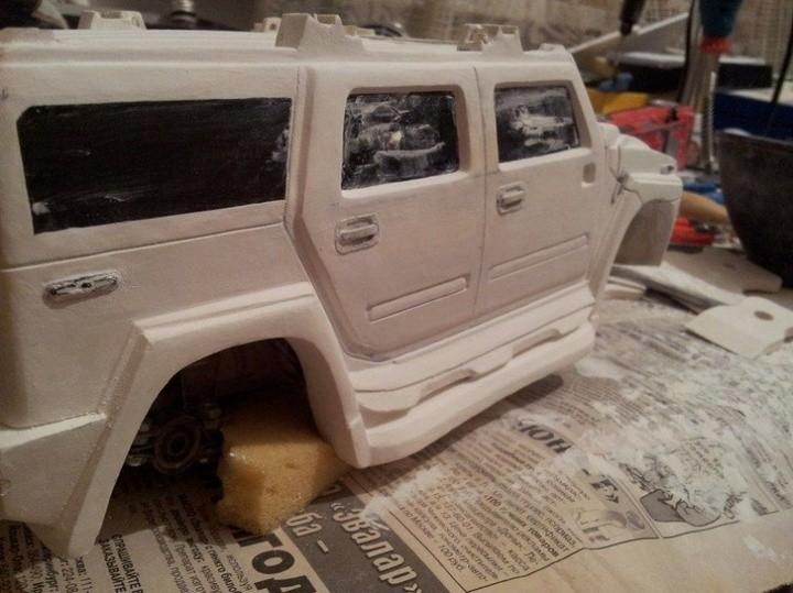 Модели Hummer своими руками (20)