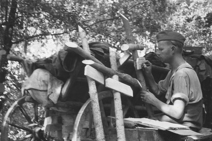 Белгородская область в объективе немецкого фотографа Франца Грассера, 1943 год (23)