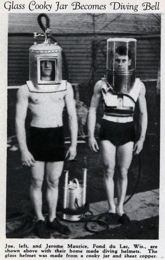 История и эволюция водолазных костюмов (25)