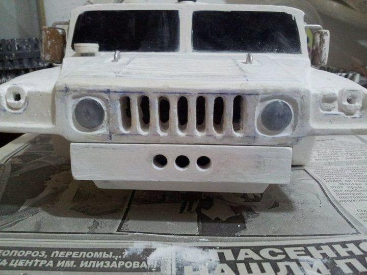 Модели Hummer своими руками (25)