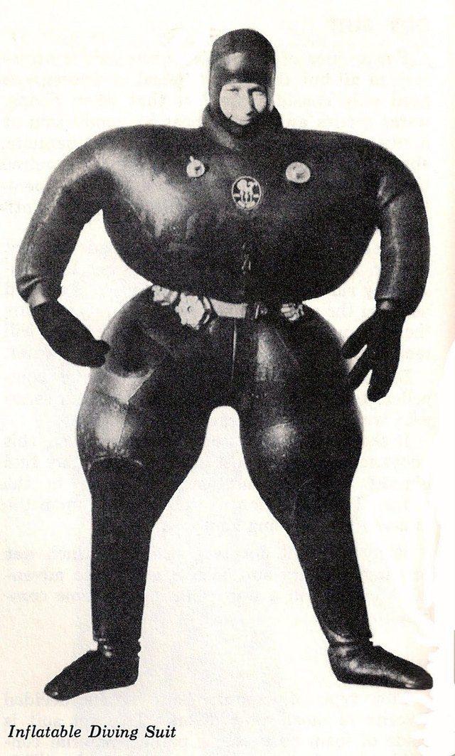 История и эволюция водолазных костюмов (26)