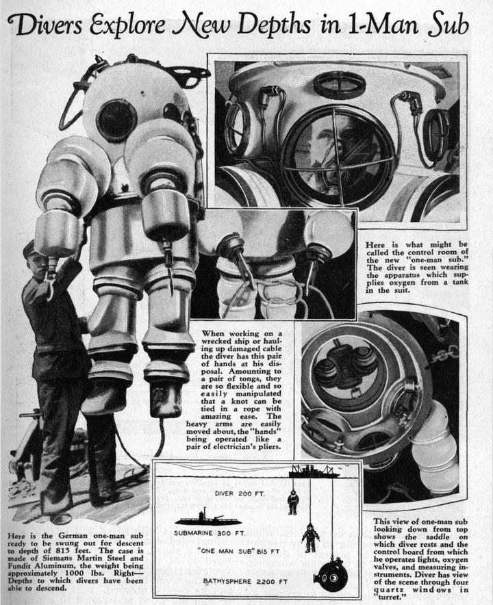 История и эволюция водолазных костюмов (27)