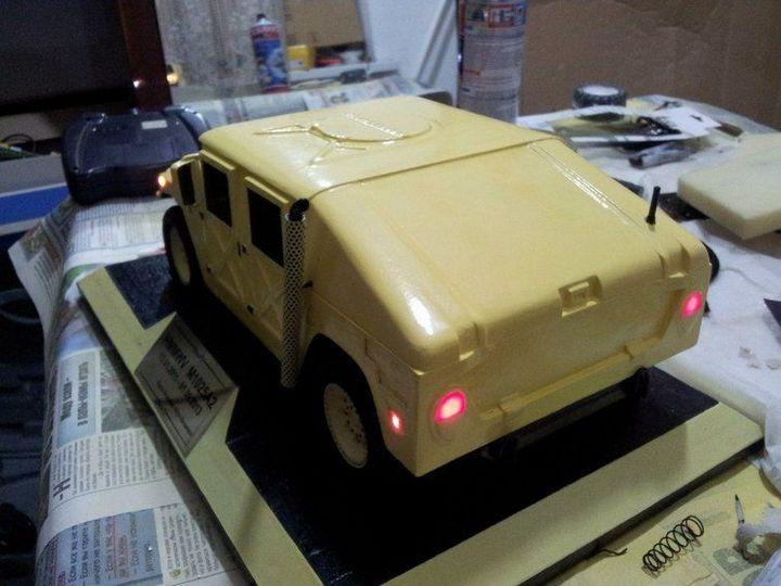 Модели Hummer своими руками (32)