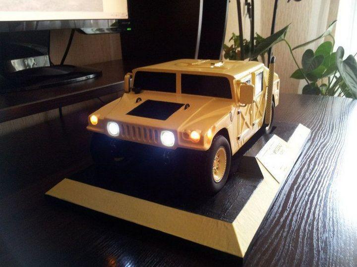 Модели Hummer своими руками (33)