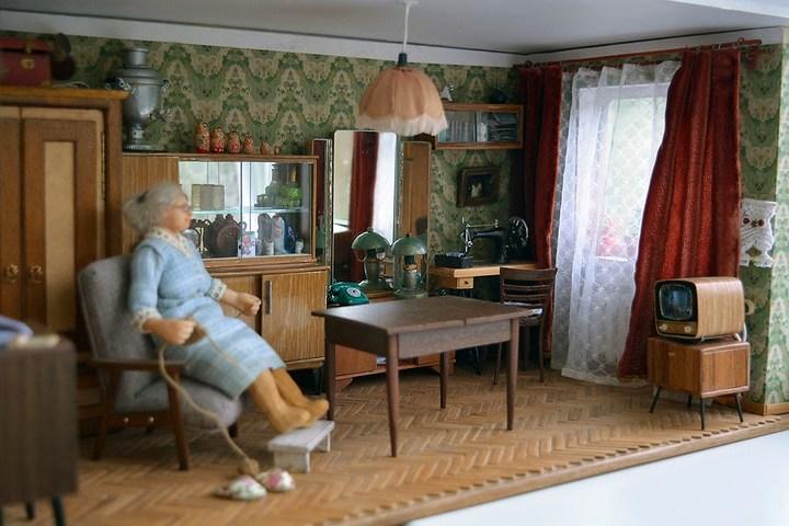 миниатюрная копия комнаты с мебелью (15)