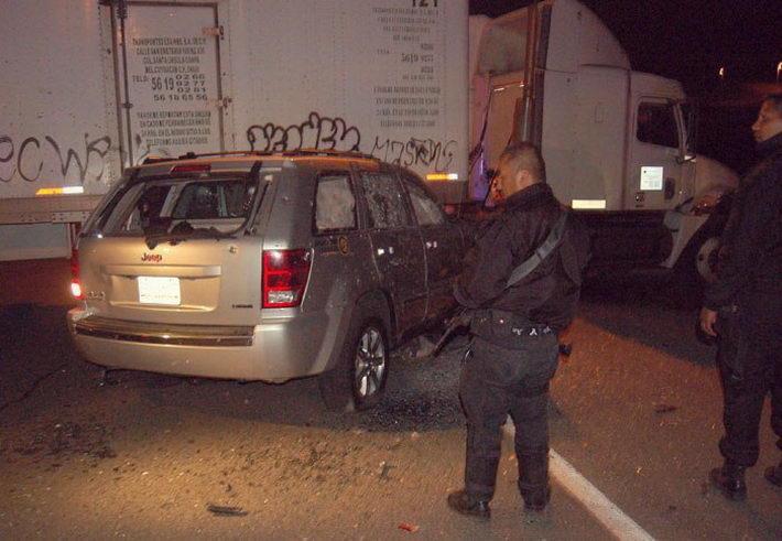 Расстрел Jeep Grand Cherokee в Мексике (3)