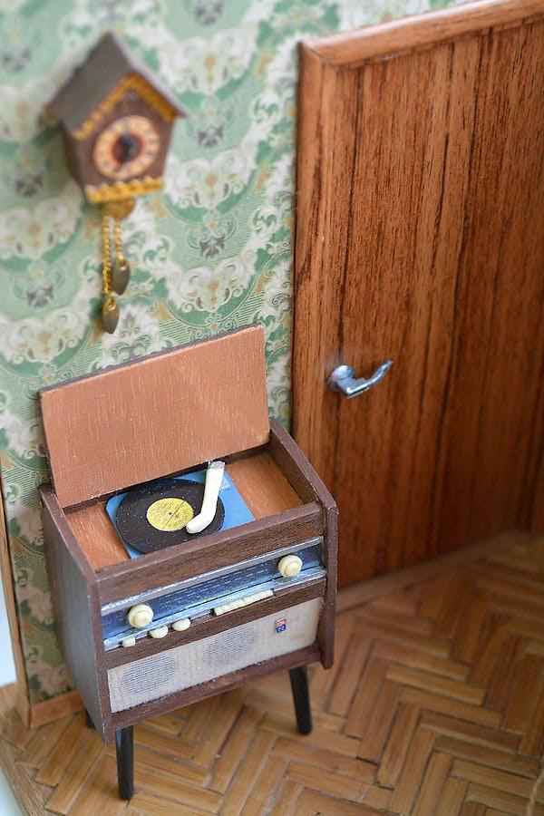миниатюрная копия комнаты с мебелью (8)