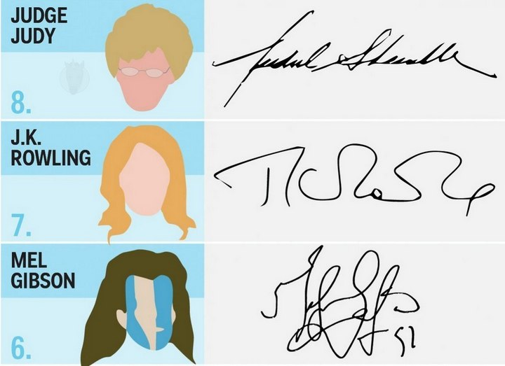17 необычных автографов знаменитостей (4)