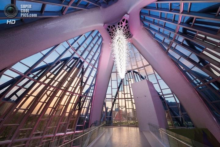 Удивительное архитектурное сооружение — Лотос в Чанчжоу (3)