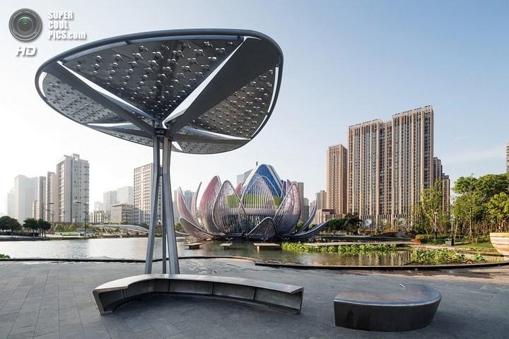 Удивительное архитектурное сооружение — Лотос в Чанчжоу (4)