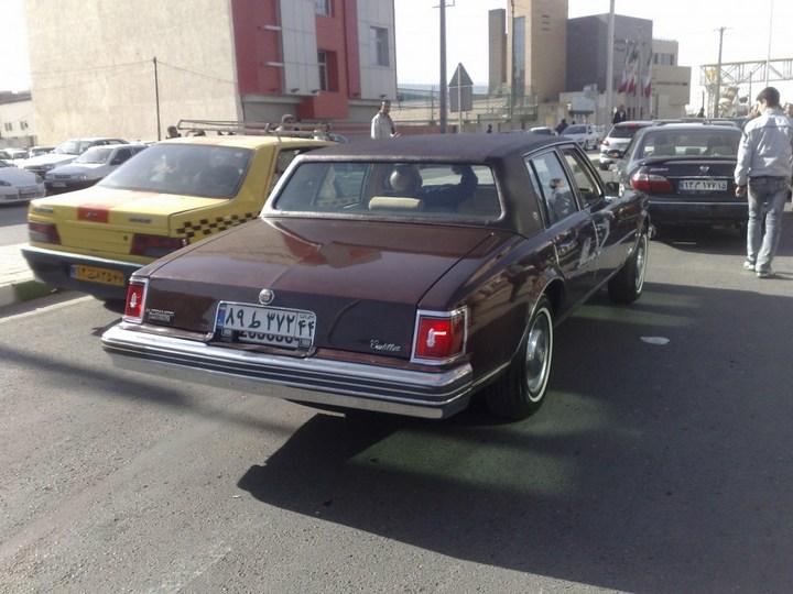 Большой черный Кадиллак Cadillac Seville Opera (6)