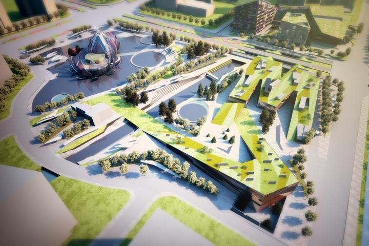 Удивительное архитектурное сооружение — Лотос в Чанчжоу (10)