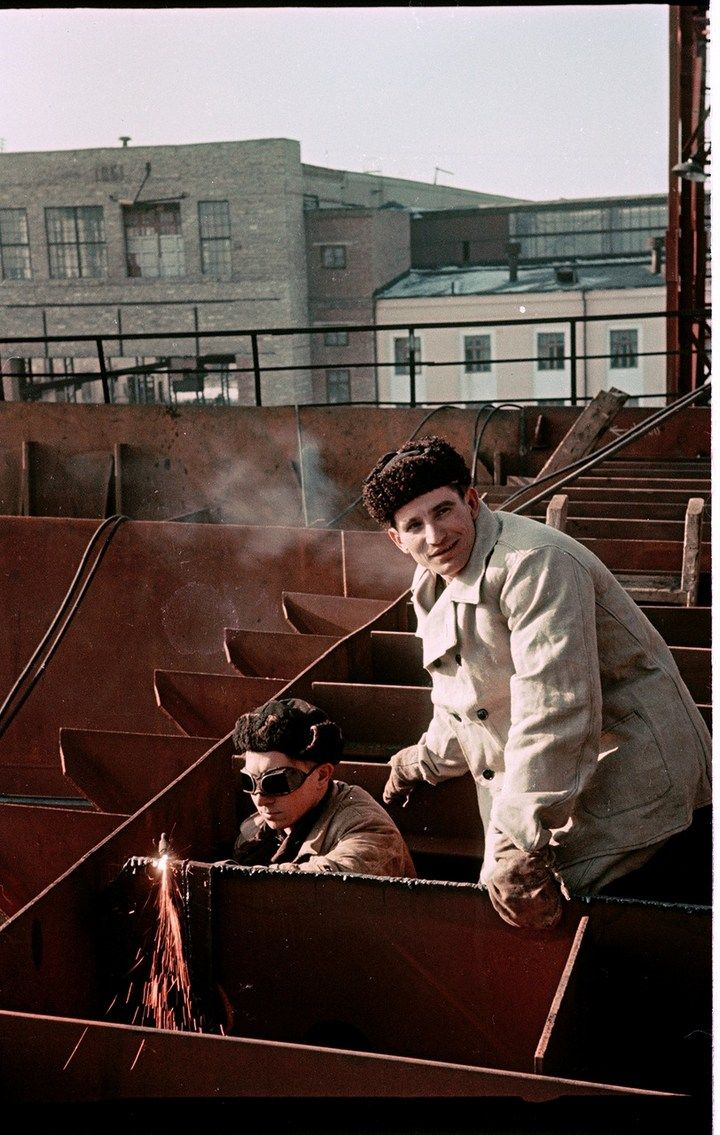 Лица Советской эпохи на фотографиях Семена Осиповича Фридлянда (11)