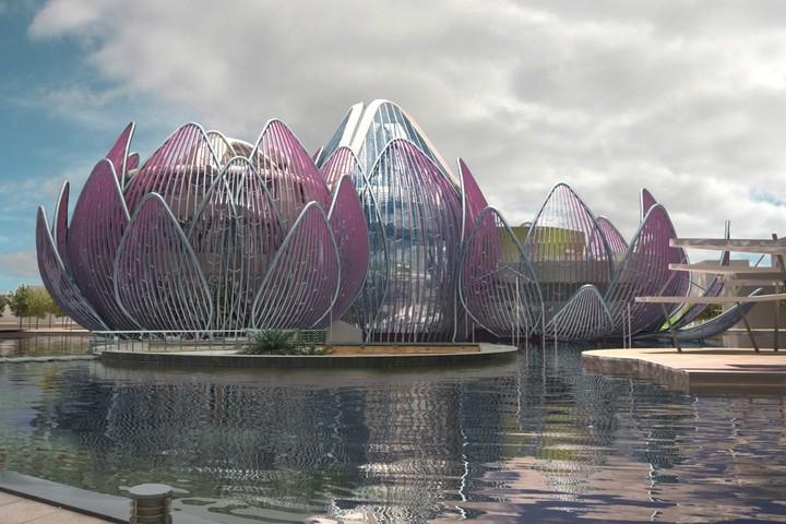 Удивительное архитектурное сооружение — Лотос в Чанчжоу (12)