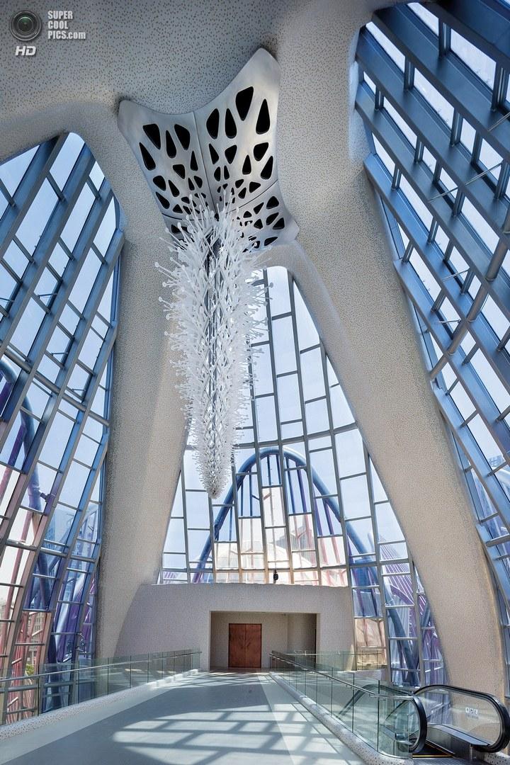 Удивительное архитектурное сооружение — Лотос в Чанчжоу (13)