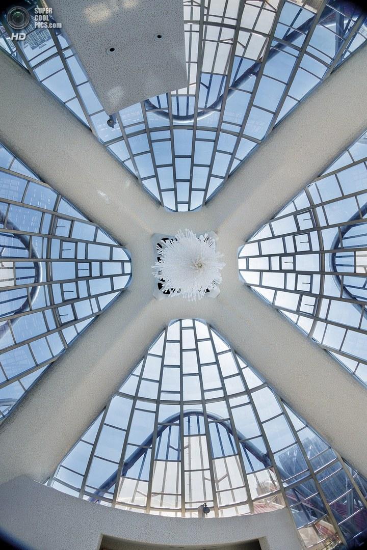 Удивительное архитектурное сооружение — Лотос в Чанчжоу (14)