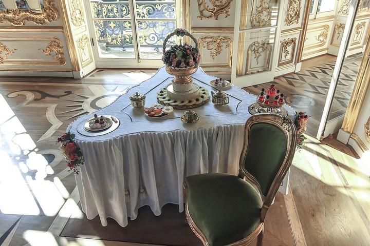 Уникальный механический обеденный стол в павильоне Эрмитажа в Царском Селе (15)