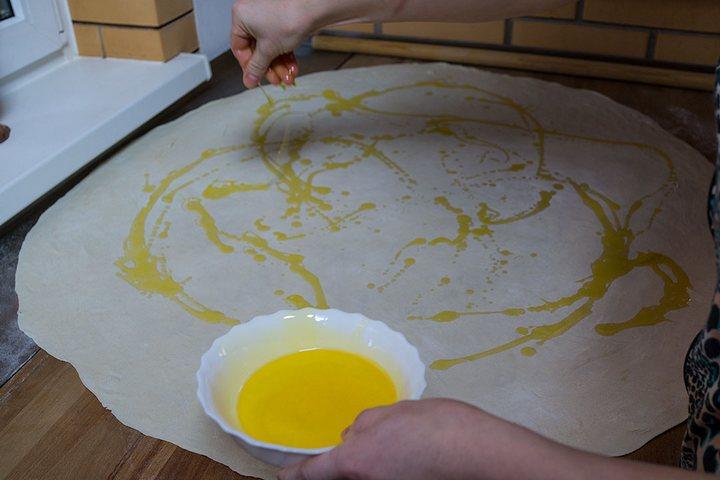 Как правильно испечь слоеную самсу. Рецепт приготовления в фотографиях (18)