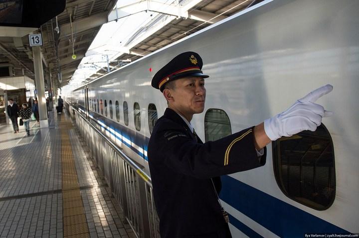 """Японское железнодорожное чудо """"Синкансен"""" (23)"""