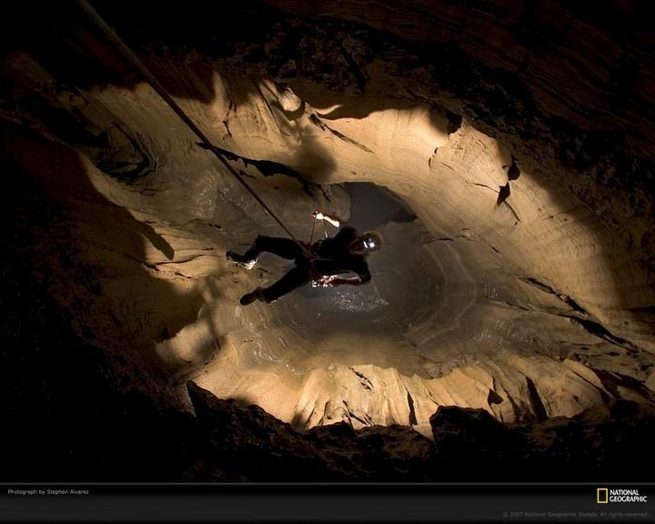 Самая глубокая в мире пещера (24)