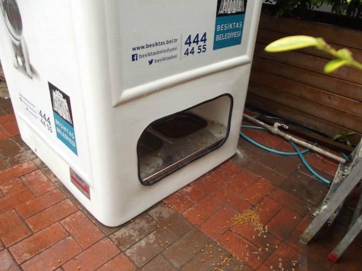 Автоматы с едой для бездомных животных (3)
