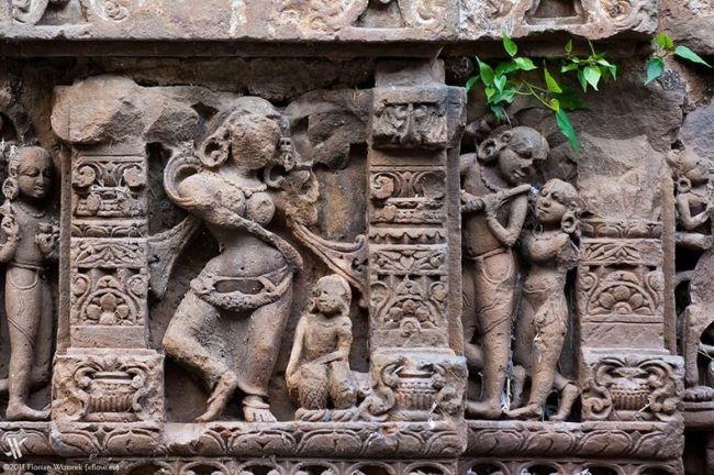 Древний колодец Чанд Баори в Индии (7)