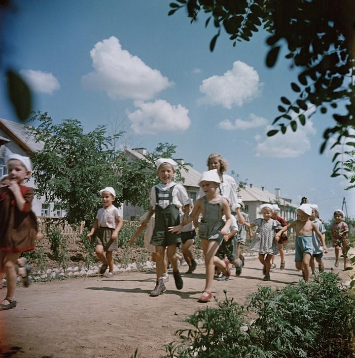 Лица Советской эпохи на снимках Фридлянда. Дети 1940-1950-х (3)