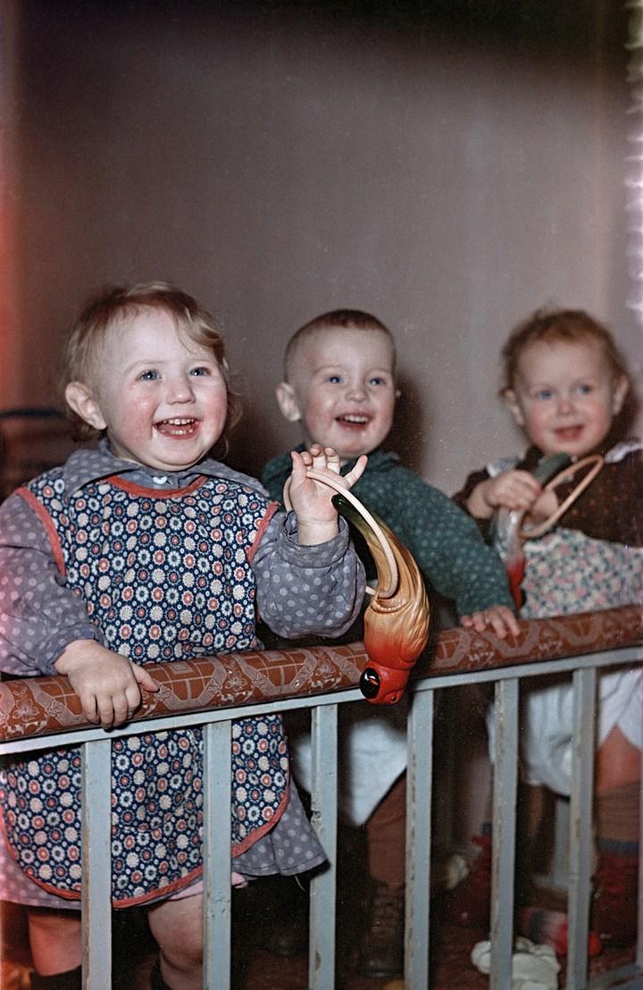 Лица Советской эпохи на снимках Фридлянда. Дети 1940-1950-х (4)