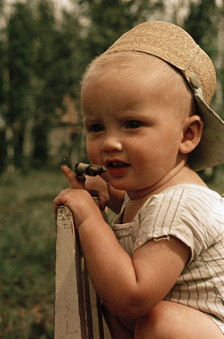 Лица Советской эпохи на снимках Фридлянда. Дети 1940-1950-х (5)