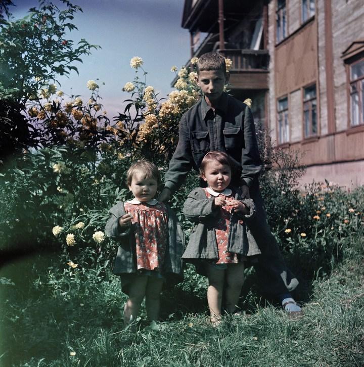 Лица Советской эпохи на снимках Фридлянда. Дети 1940-1950-х (8)
